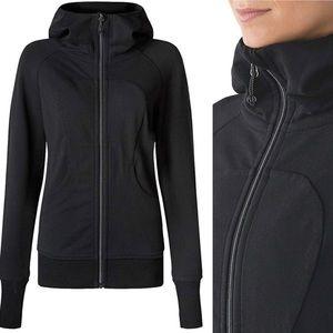 Lululemon newer release black scuba hoodie